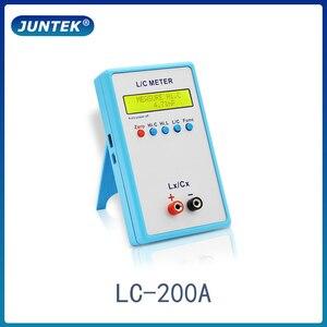 Image 1 - Juntek LC 200Aデジタル液晶容量インダクタンス計lcメーター1pF 100mF 1uH 100H