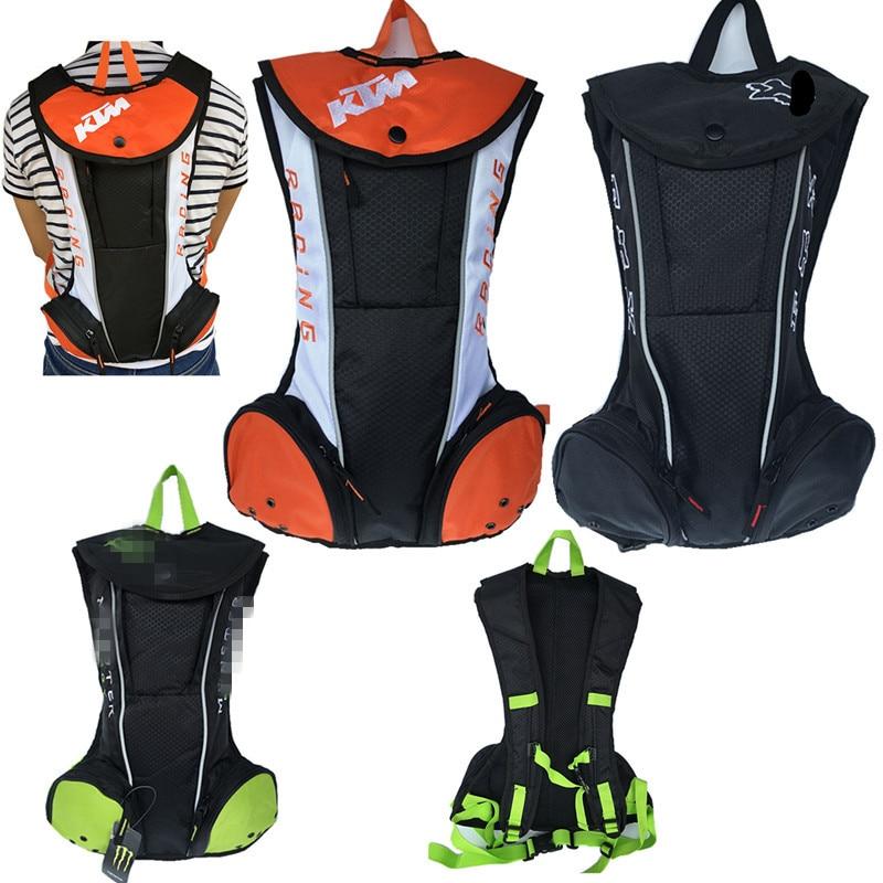 KTM Shoulder Bag Backpack Off-Road Riding Outdoor Backpack TLD Water Bag Backpack Motorcycle Water Bag Backpack