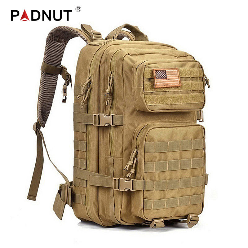 Tactical Backpack Military Assault Men Army Waterproof Outdoor Big Bagpack Rucksack Hiking Camping Hunting Climbing Bags Travel