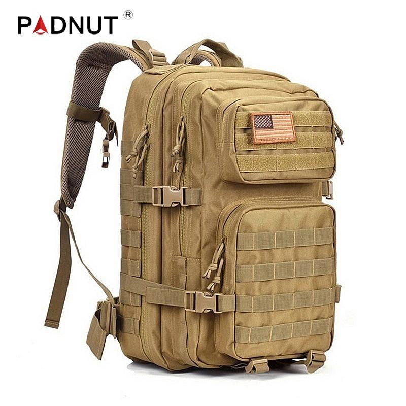 Tactical Backpack Military Assault Men Army Waterproof Outdoor Big Bagpack Rucksack Hiking Camping Hunting Climbing Bags Travel