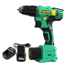 16.8V Cordless electric screwdriver with spare lithium battery hand Multifunctional electric drill Optional suitcase