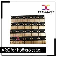 Envío gratuito por DHL, CSTINKJET 5 Juegos VA chip de reinicio automático para hp 954 chip para HP OfficeJet 7740 8710 7720 8210 8710 8720 8730