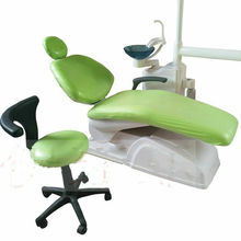1Set Dental Pu Leather Chair Cover Seat Cover Elastic Waterproof Protectuive Case Protector Dentist Equipment