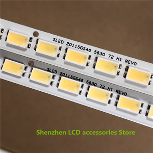 Image 5 - 10 adet/grup 72LEDs 520MM 46 aşağı LJ64 03035A LED şerit kızak 2011SGS46 5630 72 H1 REV0 için LTA460HQ12 LED46860iX LTA460H yeni