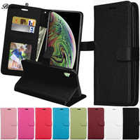 Leather Wallet Case For Samsung Galaxy Note 10 Pro 9 8 5 4 3 III Note4 Note5 Note8 Note9 Cover With Magnet Card Holder Flip Capa