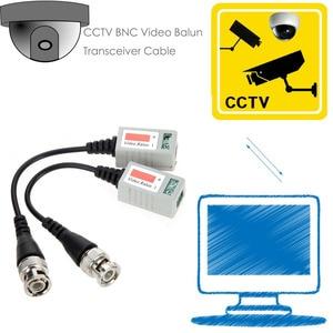 Image 4 - 20Pcs Ahd/Cvi/Tvi Twisted Bnc Cctv Video Balun Passieve Transceivers Utp Balun Bnc Cat5 Cctv Utp video Balun Tot 3000ft Range