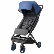 Складная детская коляска, легкая коляска на колесиках, четыре сезона, популярная коляска для мамы, переносная коляска на самолете и машине