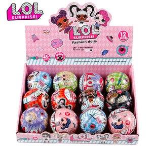 L.O.L.SURPRISE! Lol куклы сюрприз игрушки красивые волосы кукла DIY Ручная глухая коробка модель куклы игрушка подарок отправлено случайным образом