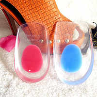 Silicone Gel Comfort Heel Cups Pads/Insoles/Inserts Protect Feet for Men/Women Height Increasing Insoles 15