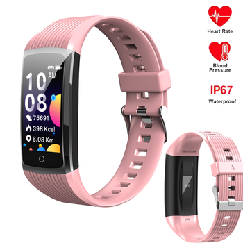 Smart Bracelet R12 Sport Fitness Pedometer Watch band 4 Heart Rate Blood Pressure Bluetooth Wristband For HuaWei Honor IOS Phone