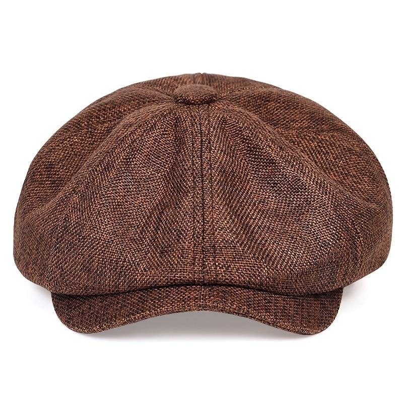 2020 cappello da newsboy casual da uomo nuovo cappello da berretto retrò primavera e autunno cappelli casual selvatici berretto ottagonale selvaggio unisex 2