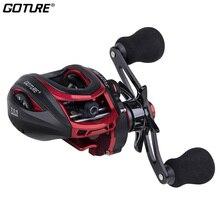 Goture Scotta Baitcasting Fishing Reel 8KG Max Drag Magnetic Centrifugal Dual Brake Casting  Reel High Speed Carp Fishing Reel