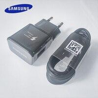 Veloce di Samsung Caricatore Usb Adattatore di Carica Rapida 1.2M Usb Tipo C Cavo per La Galassia S10 S8 S9 Più A3 a5 A7 2017 Nota 10 8 9 Più di 10 +