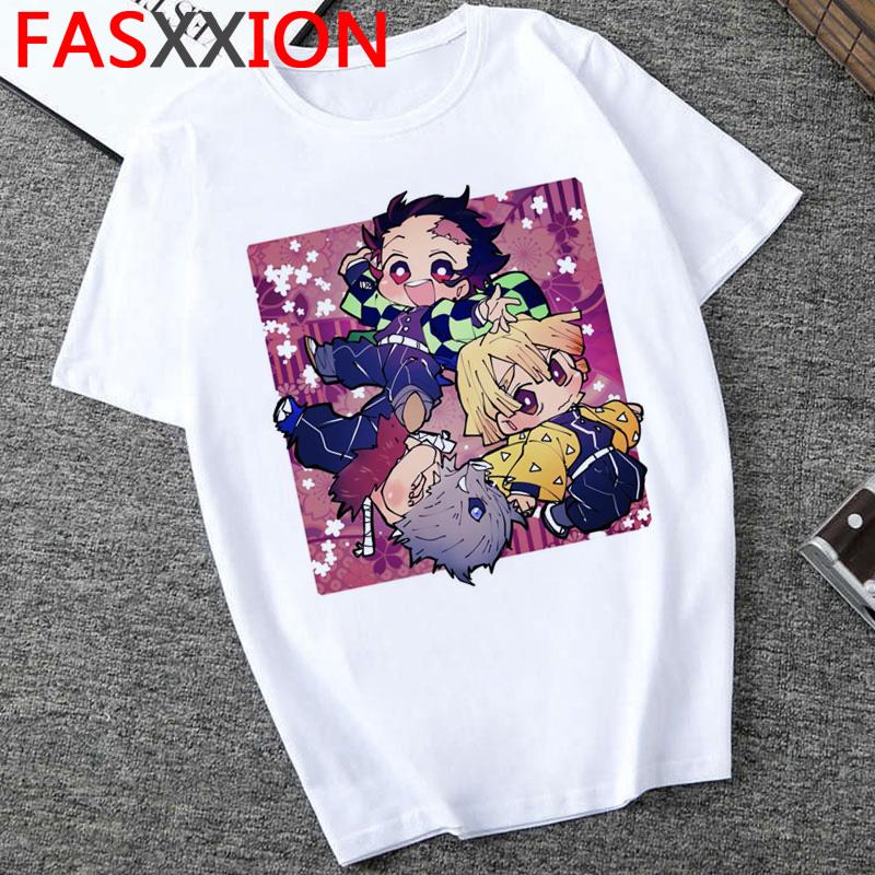 H469508dfa3dd455d9cf34a559f6a2ec6j - Demon Slayer T-shirt  Graphic Tees Men Streetwear  Japanese Anime Cool Tshirt Funny Cartoon Kimetsu No Yaiba T Shirt Male