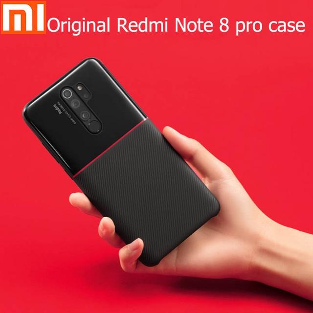 Oryginalna obudowa Xiaomi Redmi Note 8 Pro minimalistyczna obudowa na telefon komórkowy kompleksowa ochrona materiału ochrony środowiska