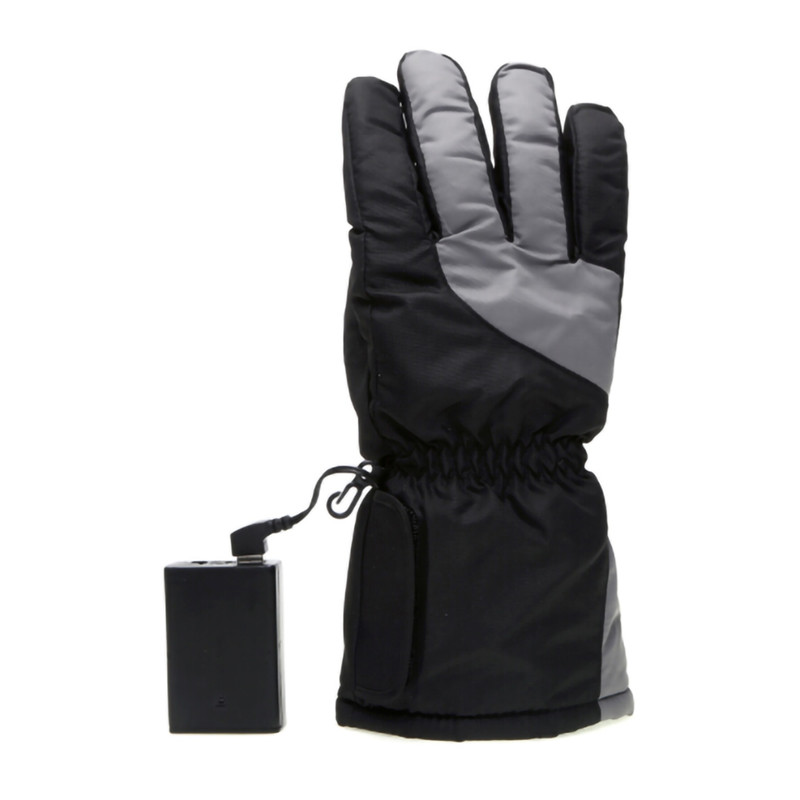 Ski Gloves Winter Usb Electric Hot Finger Gloves 5th Battery Heating Outdoor Ski Gloves Thick Heating Gloves Can Be Washed AHPU