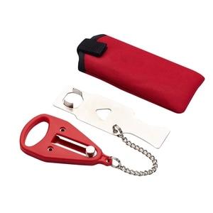 Portable Hotel Door Lock Self-Defense Door Stop Locks Travel Door Stopper security buckle temporary room blocker anti-theft lock