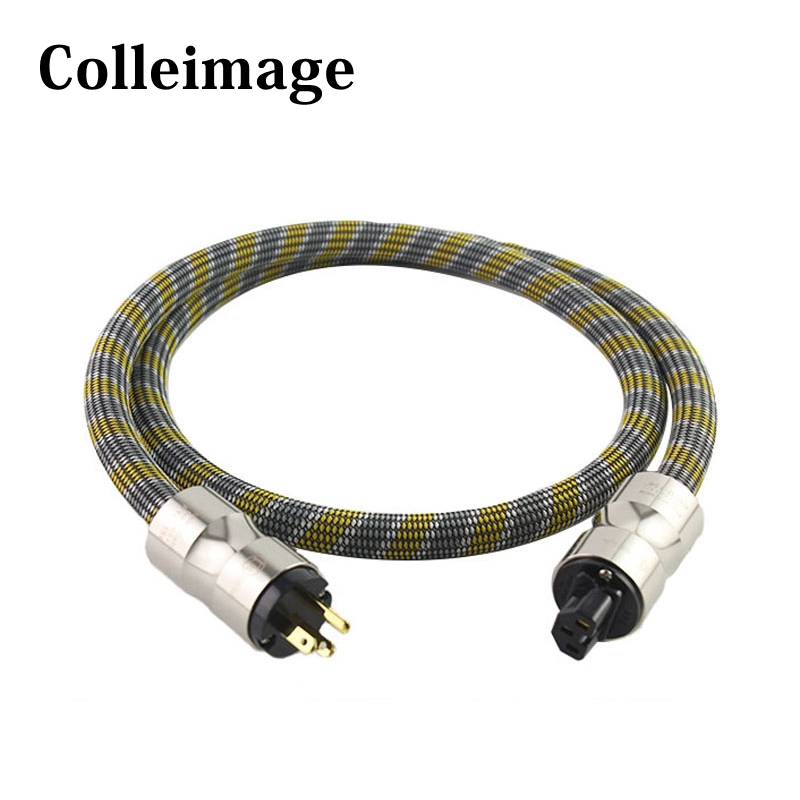 <font><b>Mcintosh</b></font> <font><b>2328</b></font> power line HIFI POWER CABLE Power Cord with EU/US Plug AC cable line hifi image