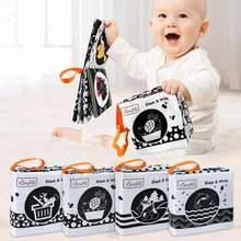 Детские игрушки книжки из мягкой ткани для малышей животные