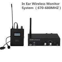 Cho ANLEON S2 Stereo Không Dây Màn Hình Hệ Thống Tai Nghe Không Dây Bộ Thu Phát Micro Hệ Thống 670 680MHZ NTC Ăng Ten Nồi Cơm Điện Từ