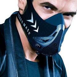 FDBRO máscara deportiva de entrenamiento máscara deportiva 3,0 máscara para correr para Fitness gimnasio entrenamiento resistencia elevación Cardio resistencia respiración