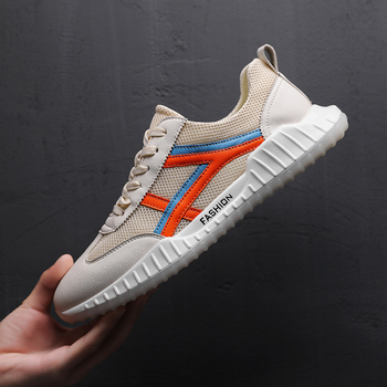 2018 Fashion Casual Spring And Summer Shoes Lace-Up Sneakers Trainers Breathable Shoes Mens  Zapatillas S2951-2975 C1