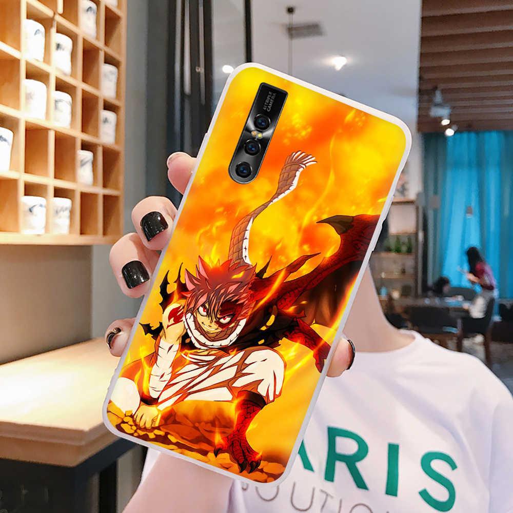 EWAU Manga fairy tail telefon etui na vivo Y53 Y81 V7 V9 V11 V15 Pro Y17 Y71 Y91 Y93 Y66 X9 Z5X