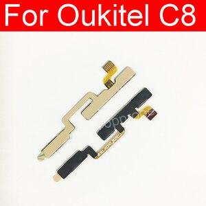 Мощность + кнопка регулировки громкости гибкий FPC кабель для Oukitel U16 Max регулятор громкости питания гибкий кабель для Oukitel U16 Max запчасти