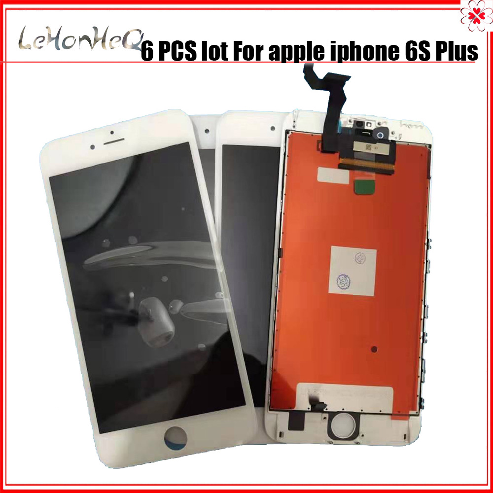 6 Piece/lot LCD for iPhone 6S plus LCD Screen Digitizer Assembly Display Touch for iphone 6S plus screen LCD image