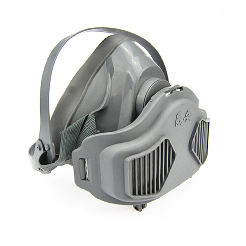 Anti Dust Respirator Filter Gas Mask Set Chemical Anti-dust Masks Industrial Paint Spraying Protective Mask Workplace Safety