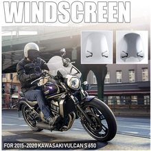 Deflector Windshield Vulcan For Kawasaki Motorcycle Flyscreen with Bracket VN 16 650-En650