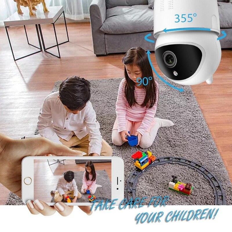 alexa eco webcam inteligente câmera de vigilância