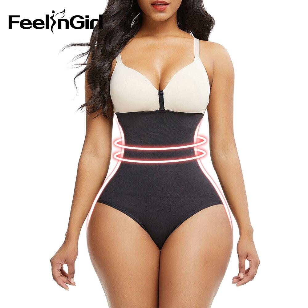 FeelinGirl Womens Firm Control Shapewear High-Waist Brief