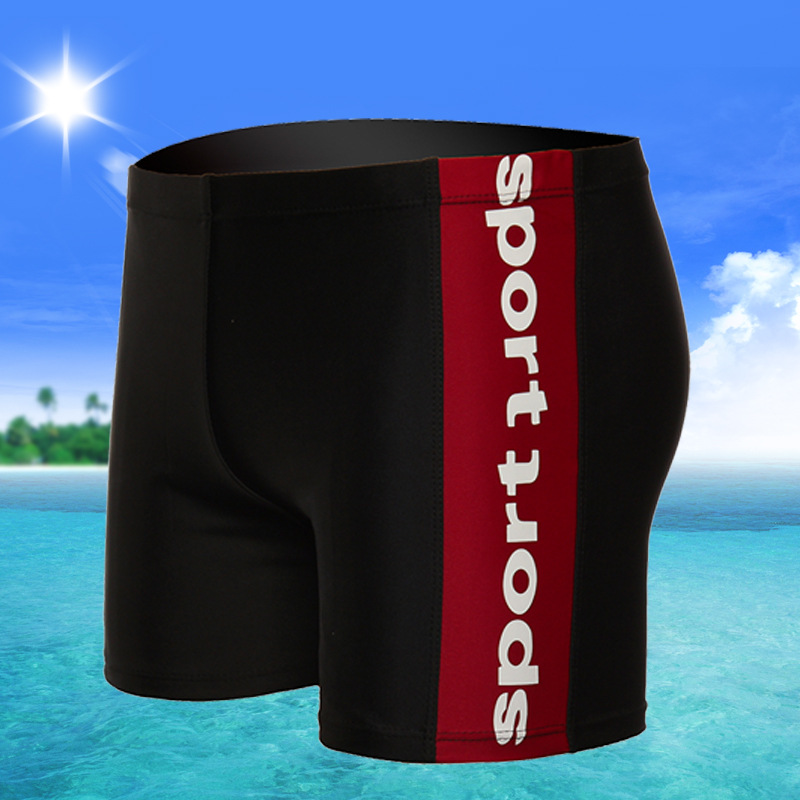 New Style Extra Large Swimming Trunks 300 Loose-Fit Plus-sized Men Swimming Bubble Hot Spring Swimming Trunks