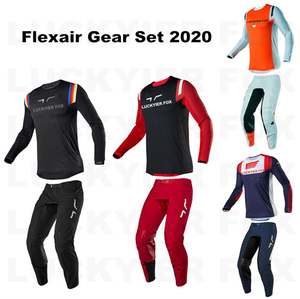 LUCKYIER FOX Motocross Suit Flexair Gear Set Cycling Jersey Pants Combination Mountain Bike ATV MX Off-Road Motorcycle Suit