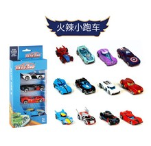 New 4 Pack Mini Racing Model Toys Childrens Toys Alloy Sliding Pocket Small Sports Car