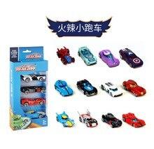 Novo 4 pacote mini modelo de corrida brinquedos das crianças liga deslizante bolso pequeno carro esportivo