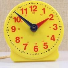 Модель часов начальной школы, учебные пособия по Математике Студентов, чтобы понять время двухконтактной связи