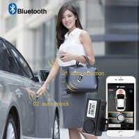 PKE Smart Schlüssel Auto Alarm System Mit Fernbedienung zentralverriegelung Start Stop Push Button Passive Keyless Entry MP686