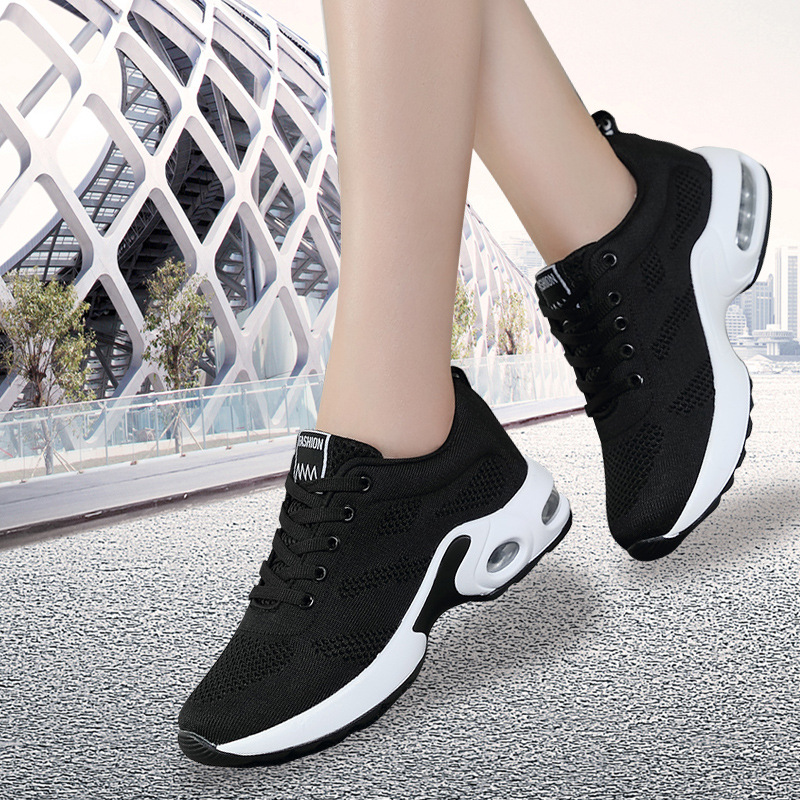 Girl Students Women Dance Shoes Soft Mesh Dancing Sneakers Ladies Fitness Training Jazz Shoes Red Zapatos De Baile Latino Mujer