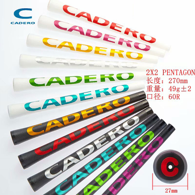 New  9pcs/lot CADERO Golf Grips High Quality Rubber Golf Irons Wood Grips 10 Colors Golf Clubs Grips Standard