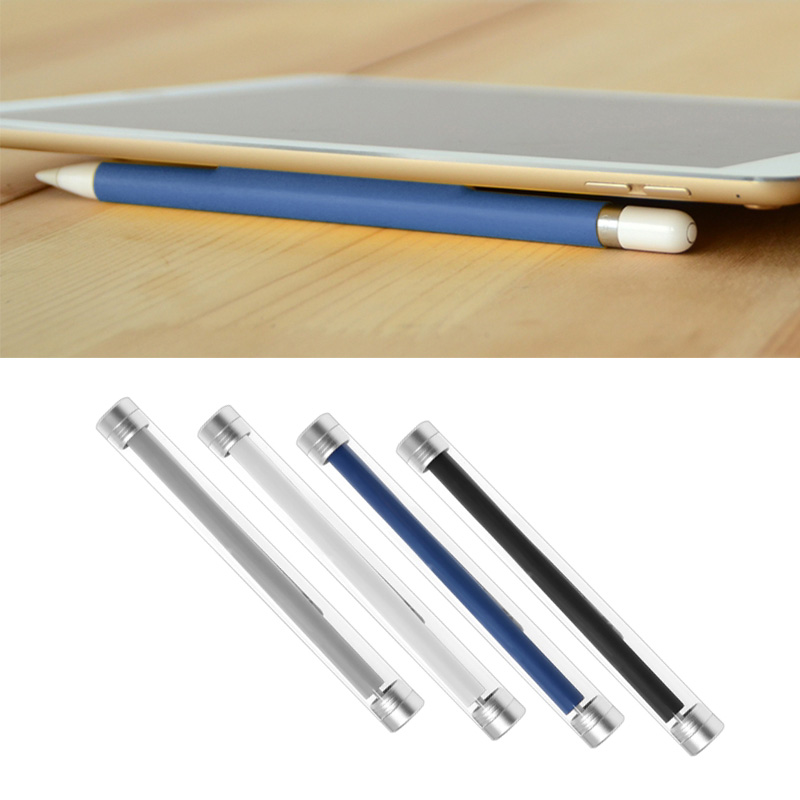 Magnetic Sleeve Silicone Holder Grip For Apple iPad 9.7 10.5 12.9inch Pro Pencil