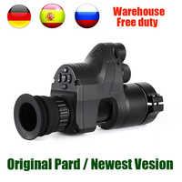 PARD NV007 Digital caza visión nocturna alcance cámaras 5w DIY/IR/infrarrojo visión nocturna Riflescope 200M rifle óptico de noche