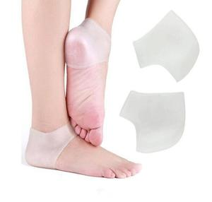 New Hot Silicone Heel Socks Cracked Foot Skin Care Protector Pad Heel Pads