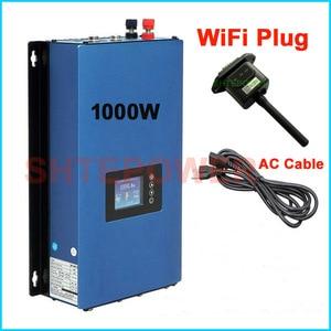 Image 4 - Inversor de conexión a red de 1000W, actualizado, con enchufe wifi, MPPT, energía Solar, inversor de 1kW + sensor limitador inter, 24v, 48v, CC, CA de 220V, 230V