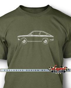 Fiat 850 Sport Coupe Мужская футболка-несколько цветов и размеров-итальянский классический автомобиль