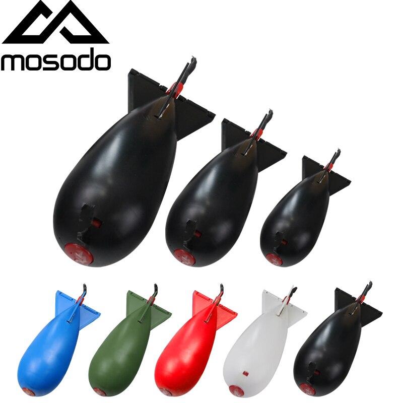 Mosodo Carp Fishing Rocket Feeder Large Small Spod Bomb Float Lure Bait Holder L M S Pellet Rockets Feeders Position Gear