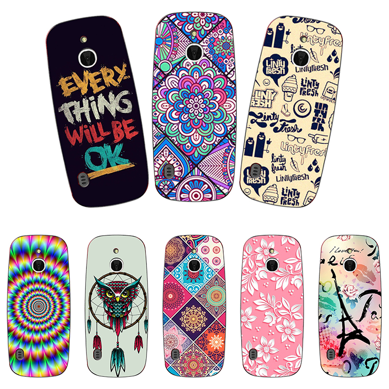 Soft Silicone Phone <font><b>Case</b></font> For <font><b>Nokia</b></font> <font><b>3310</b></font> <font><b>3G</b></font> 4G Printing Rose Flower Animal Cute Cartoon Prattered back <font><b>case</b></font> For <font><b>Nokia</b></font> <font><b>3310</b></font> <font><b>3G</b></font> 4G image