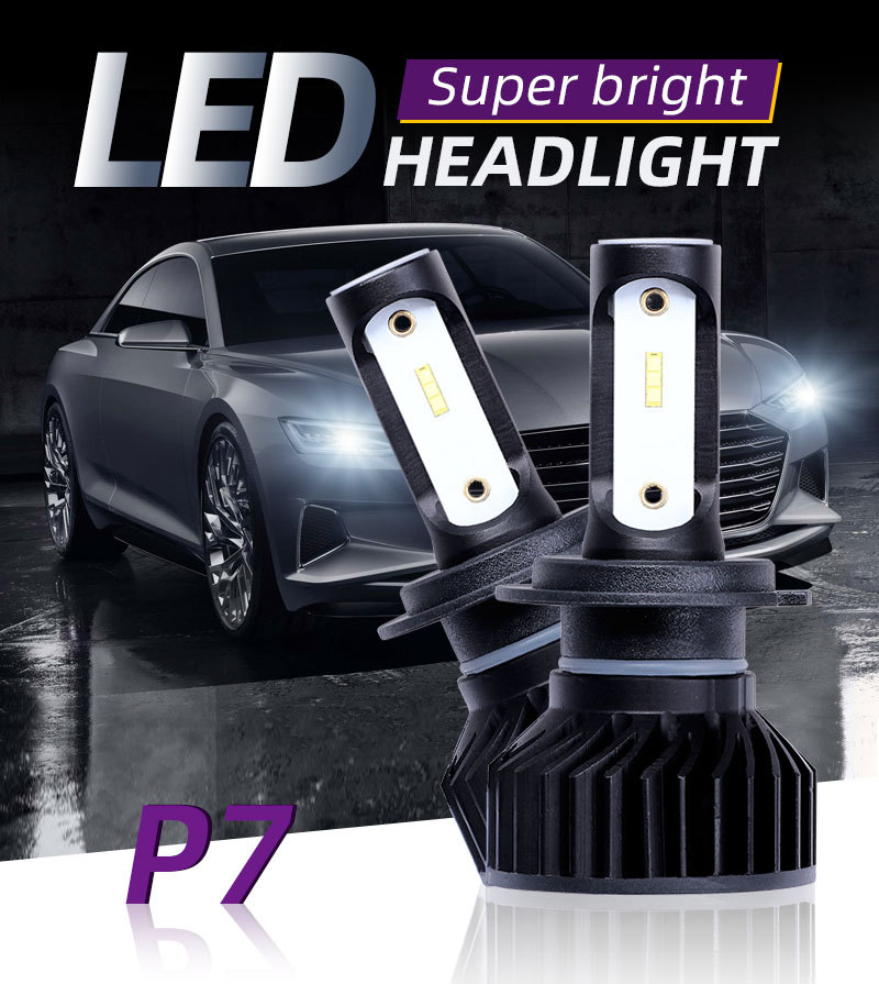 Car Headlight <font><b>H4</b></font> <font><b>110W</b></font> 16000LM <font><b>LED</b></font> H7 canbus H1 H3 H8 H11 9005 9006 55W 20000lm 6500K car Styling Auto Headlamp Fog Light Bulbs image