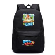Mochila Mujer Bookbag Super Zings Kawaii plecak kobiety moda plecak podróżny dla dzieci torby szkolne dla nastoletnich dziewcząt Drop Shipping tanie tanio NYLON Tłoczenie Unisex Miękka 20-35 litr Wnętrze slot kieszeń Kieszeń na telefon komórkowy Wnętrza przedziału Komputer pośrednia